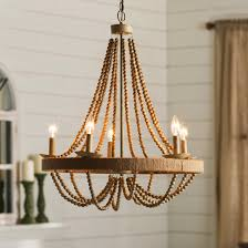 Candle Lit Chandelier Decoration Interesting Non Electric Chandelier With Simple Design