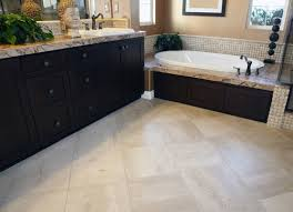 Heated Bathroom Floors Impressive Heated Bathroom Flooring In Floor Popular Awesome