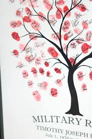 baby shower fingerprint tree like and apple pie diy how to do a fingerprint tree guestbook