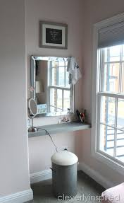 how to build a shelf in a nook space cleverly inspired