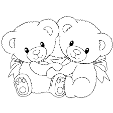 coloring pages pictures of free printable teddy bear coloring