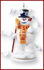 frosty the snowman ornaments