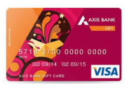 bank gift cards axis bank gift card at 3 cashback offer get 3 cashback on