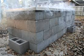 Building A Cinder Block House Anatomy Of A Cinder Block Pit Texas Barbecue