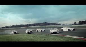 lexus lfa race car lexus lfa joins four rc f coupes in