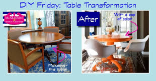Queen Anne Office Furniture by Diy Friday Table Transformation Mcaleer U0027s Office Furniture