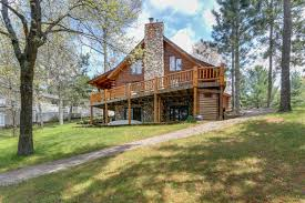 Wisconsin Log Homes Floor Plans by Waterfront Homes In Wisconsin Rome Realty