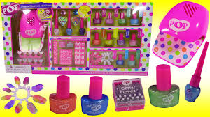 pop beauty magical manicure salon style nails with nail polish