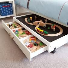 kids play table with storage underbed play table with drawers playtables kid s tables