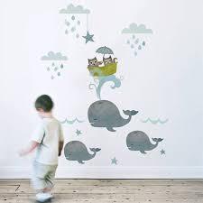 baby wandgestaltung wandtattoo kinderzimmer kreative wandgestaltung selbstklebende