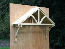 Wooden Window Awnings Wooden Door Canopy Kits Great Wood Door Awning Plans 62 In