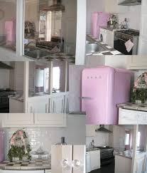 cuisine smeg porte ouverte sur la cuisine tea room