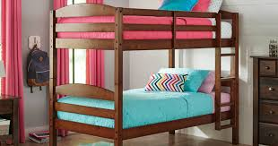Wooden Bunk Beds With Mattresses Wood Bunk Bed Set Two Mattresses Only 199 Shipped