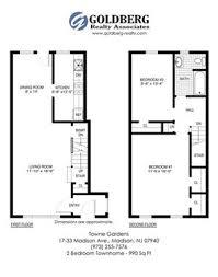 One Madison Floor Plans Towne Gardens Apartments 17 33 Madison Ave Madison Nj Rentcafé
