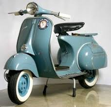 vespa px vintage scooter in rare original condition and paint