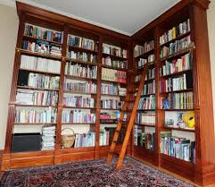 Rolling Bookcase Ladder by Cabinet Book Shelf With Ladder Bookcase Rolling Ladder On Wheels