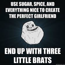 Perfect Girlfriend Meme - use sugar spice and everything nice to create the perfect
