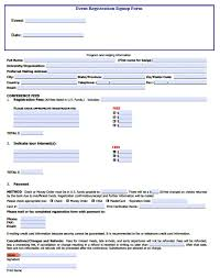 event registration form template microsoft ansoff product