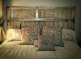 Making Bi Fold Closet Doors by Sheshe The Home Magician Headboard Made From An Old Louvered