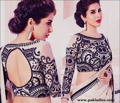 blouse designs stylish saree blouse designs pak