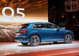 Audi Q5 New Design - all new 2017 audi q5 from the paris show floor