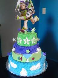 Buzz Lightyear Centerpieces by Pastel Buzz Lightyear Mis Pasteles Pinterest Buzz Lightyear