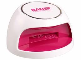 bauer professional touch activated uv nail dryer for fingers and