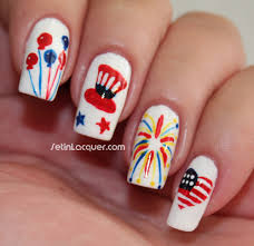 nail designs 4th of july nails gallery