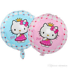 balloon wholesale 18 inch hello foil ballons party birthday decoration