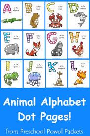 free letter z animal alphabet dots printable preschool powol