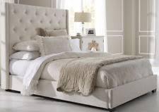 wingback bed ebay