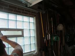 garage windows with glass u0026 acrylic blocks cleveland columbus