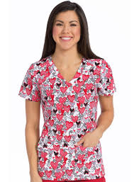 thanksgiving scrub top women s print scrub tops lydia s uniforms lydiasuniforms