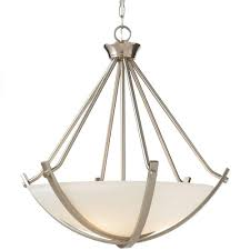 home decorators collection lighting home decorators collection 3 light brushed nickel foyer pendant