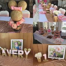 minnie mouse party supplies party supplies st birthday avery avery pink and gold