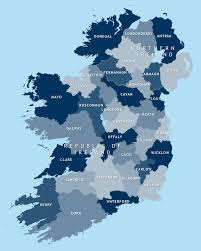 Map Of Ireland And England by Map Of Irish Counties Royalty Free Editable Vector Map Maproom