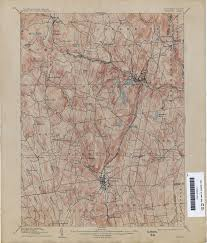 connecticut historical topographic maps perry castañeda map