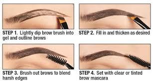 ushas 2pcs black brown eyebrow tattoo gel high pigments eyebrow
