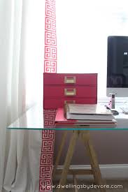 Ikea Ritva Curtains Dwellings By Devore Updating Ikea Ritva Curtains With Greek Key Trim