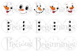 snowman faces paint patterns patterns kid