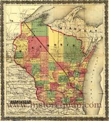 Wisconsin Road Map by Wisconsin Jpg