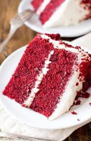 moist red velvet cake and whipped cream cheese frosting recipe