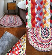 How To Make Braided Rug Upcycle Style Braided T Shirt Rug My Poppet Makes