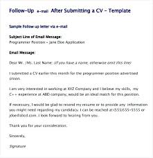 sample resume follow up email sample follow up email after