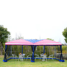 10 X 20 Shade Canopy by Aosom Outsunny 10 U0027 X 20 U0027 Pop Up Canopy Shelter Party Tent With