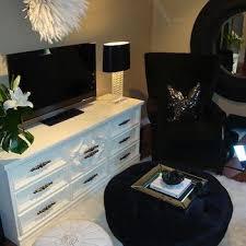 round blue velvet tufted living room ottoman design ideas