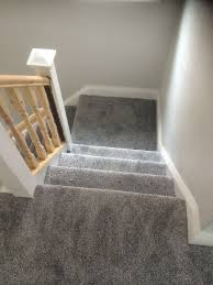 dark grey stairs carpet supplied and fitted by out u0026 about carpets