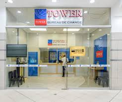 tower bureau de change killarney mall