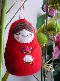 i craft my matryoshka ornament