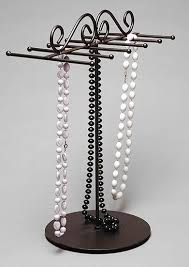 stand necklace images 12 peg black metal necklace stand th 261 117 capitol store fixtures jpg